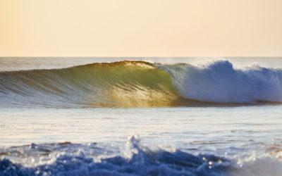Surfing Playa Avellanas, Costa Rica