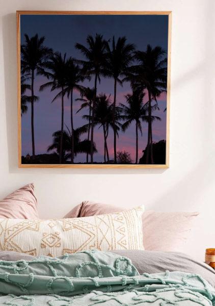 Palmtree sunset photo by Samba to the Sea.