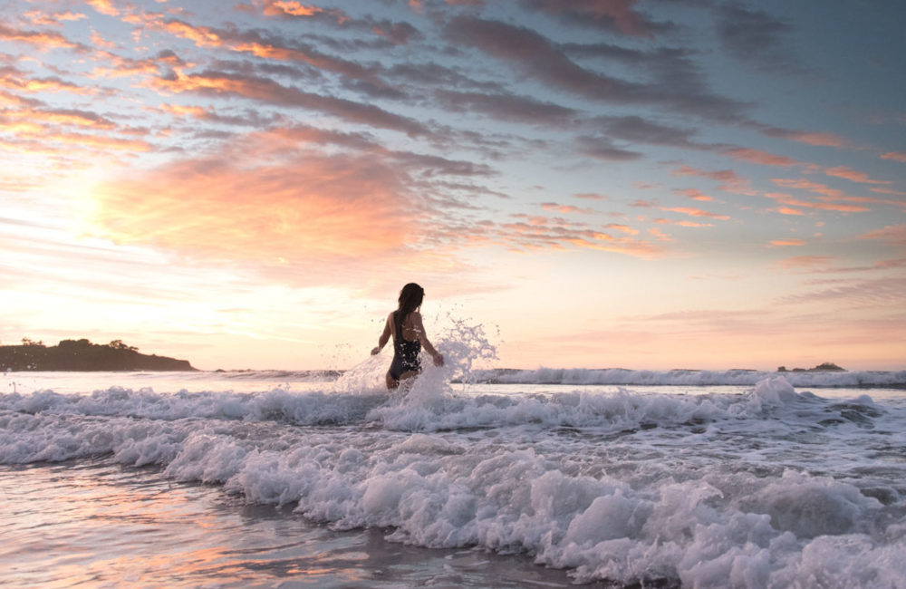 Sunset in Tamarindo, Costa Rica. Lifestyle brand photography by Kristen M. Brown, Samba to the Sea.