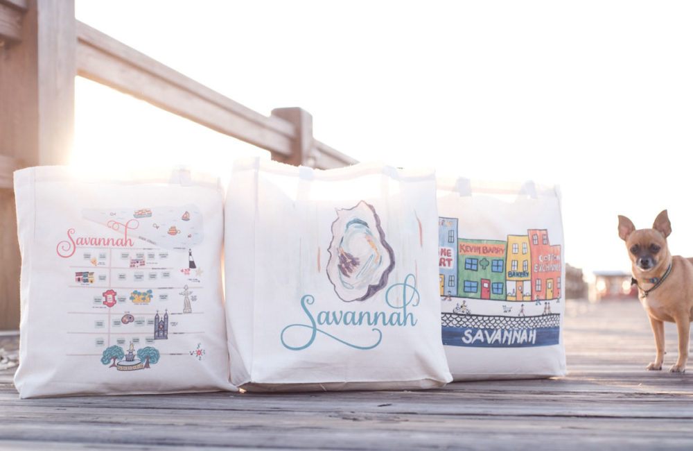 Lifestyle brand photography for Savannah Bag Co. by Kristen M. Brown, Samba to the Sea.