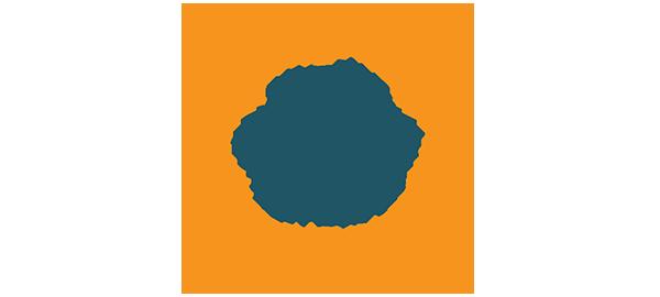 The Sunset Shop badge logo