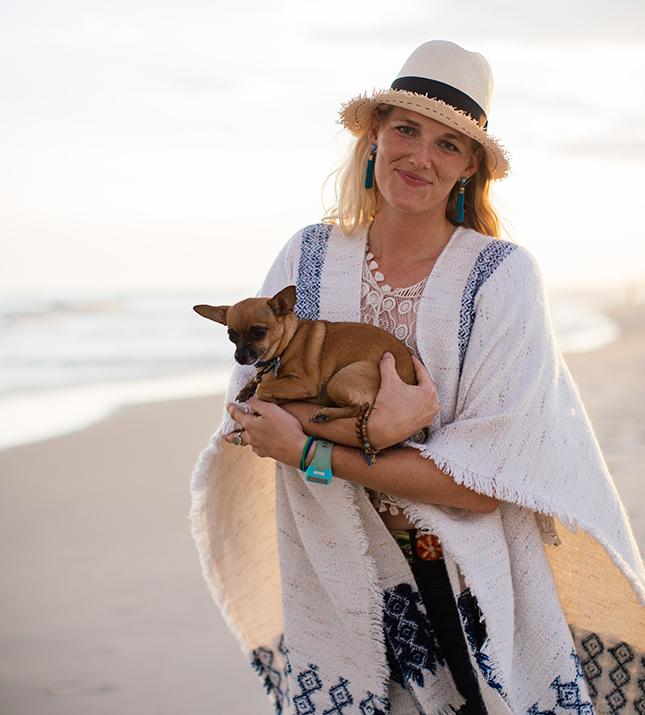 Portrait of photographer Kristen M. Brown