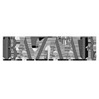Harper's Bazaar logo.